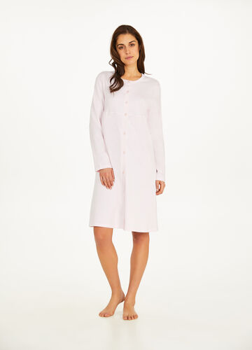 100% cotton lace nightshirt