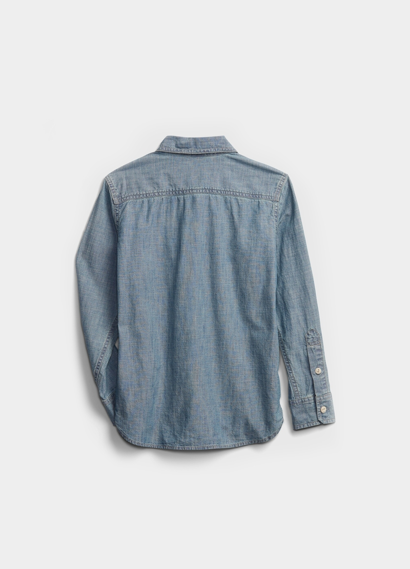 GAP cotton shirt with pockets image number null