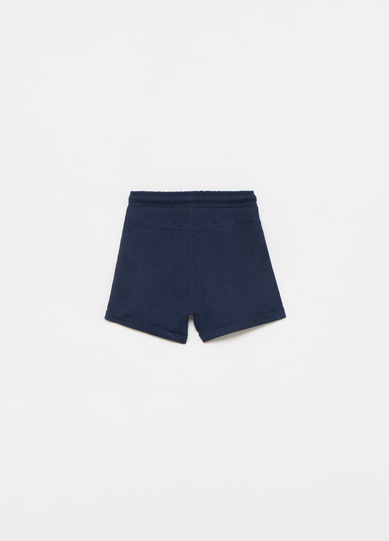Jersey shorts with pouch pocket image number null