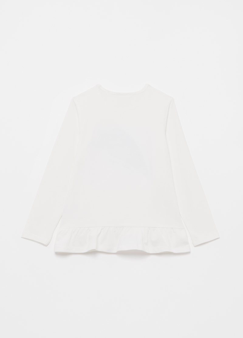 T-shirt stella cometa con paillettes image number null