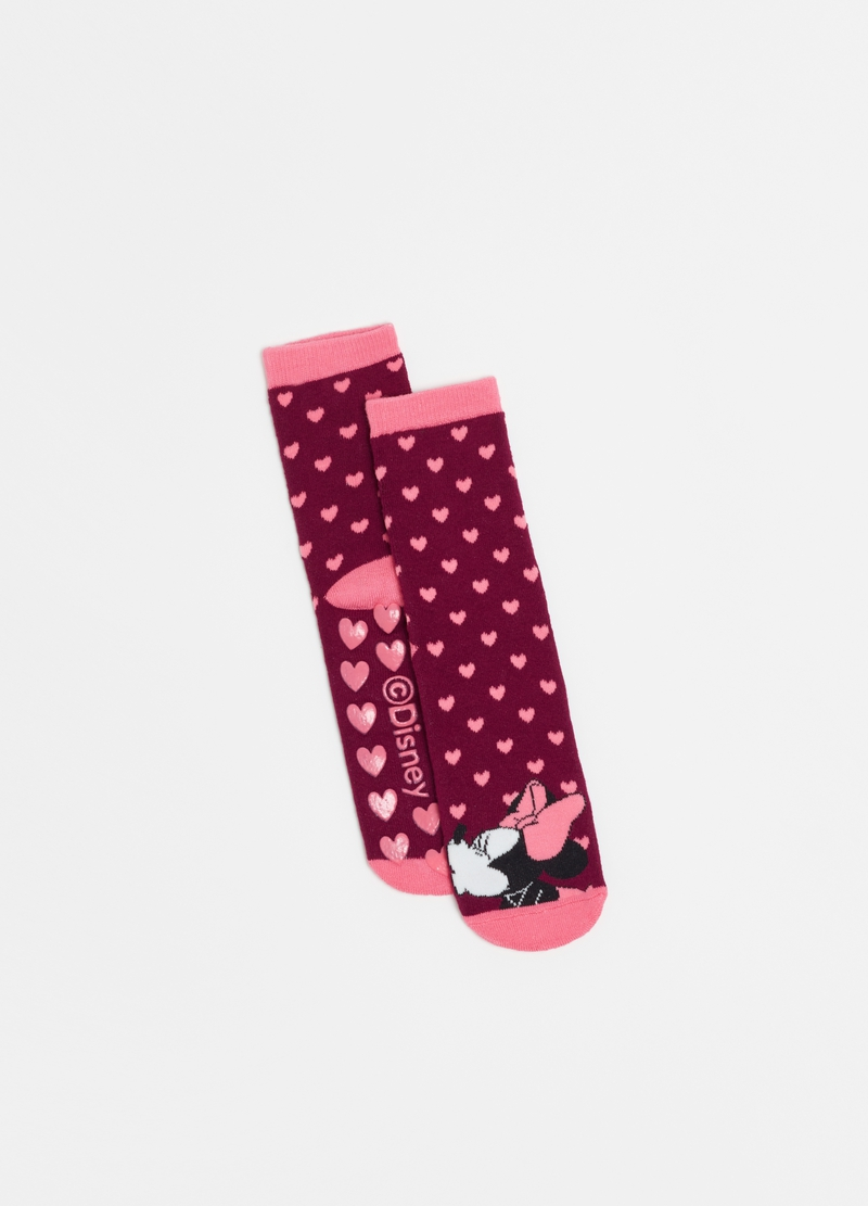 Disney Minnie and Mickey Mouse slipper socks image number null