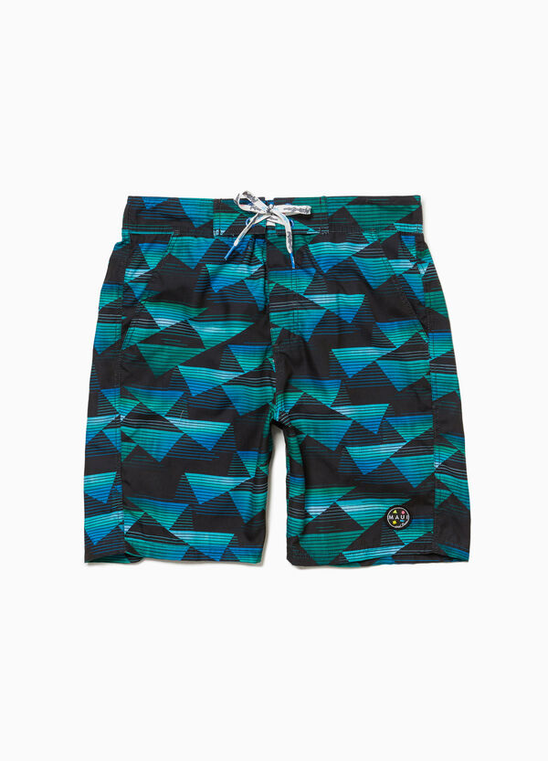 Pantaloncini mare patch Maui and Sons