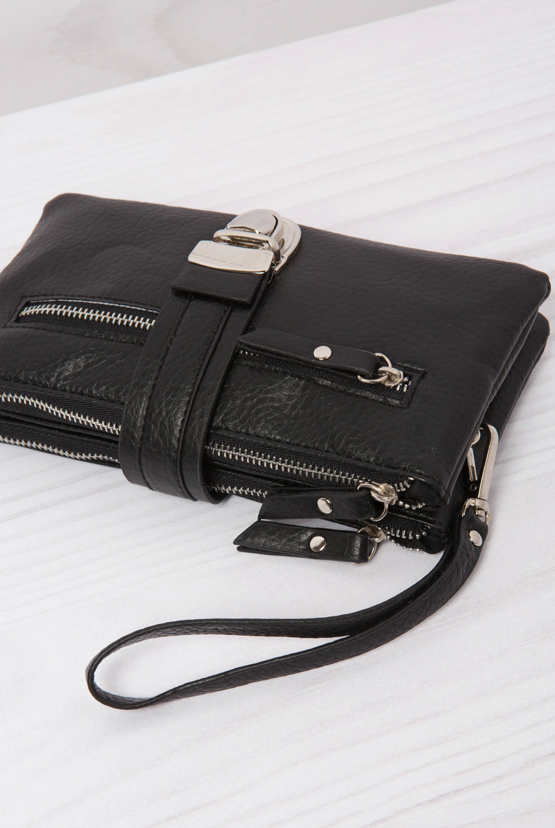Leather look wallet image number null