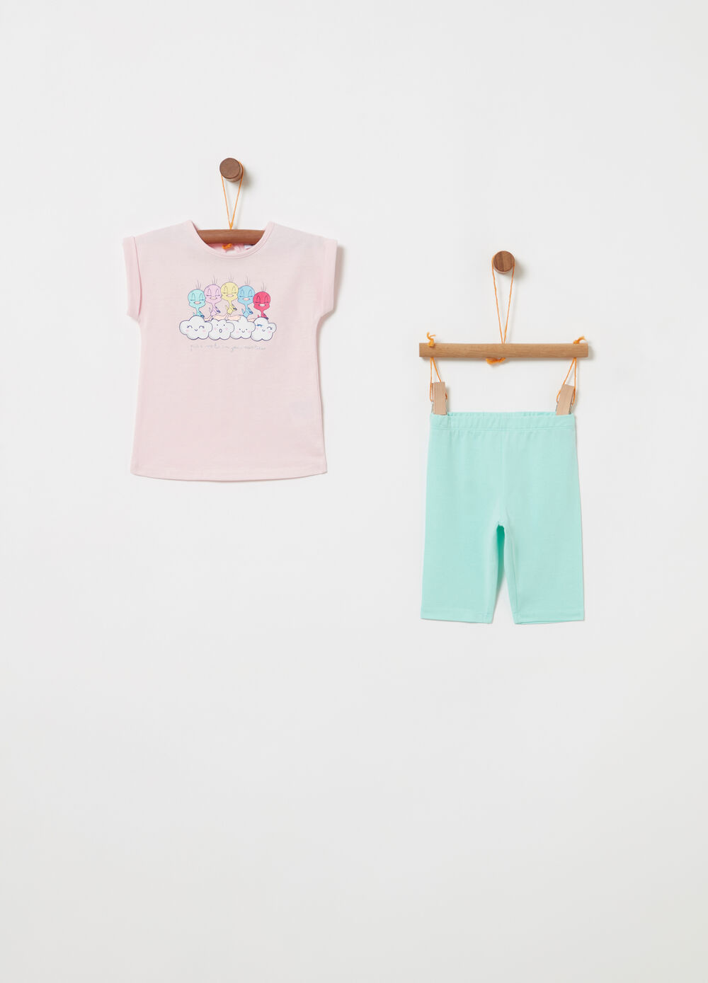 Jogging set BCI t-shirt Titti e leggings