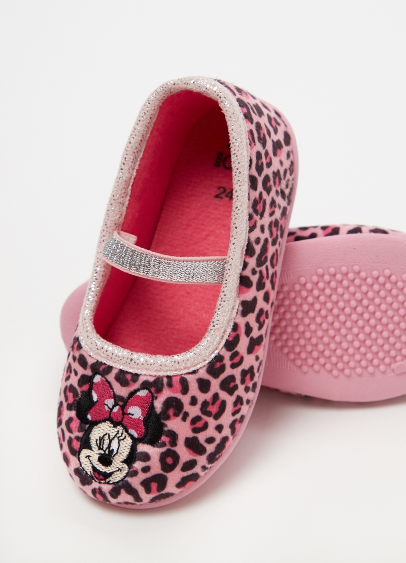 Pantofoline con ricamo Disney Minnie image number null