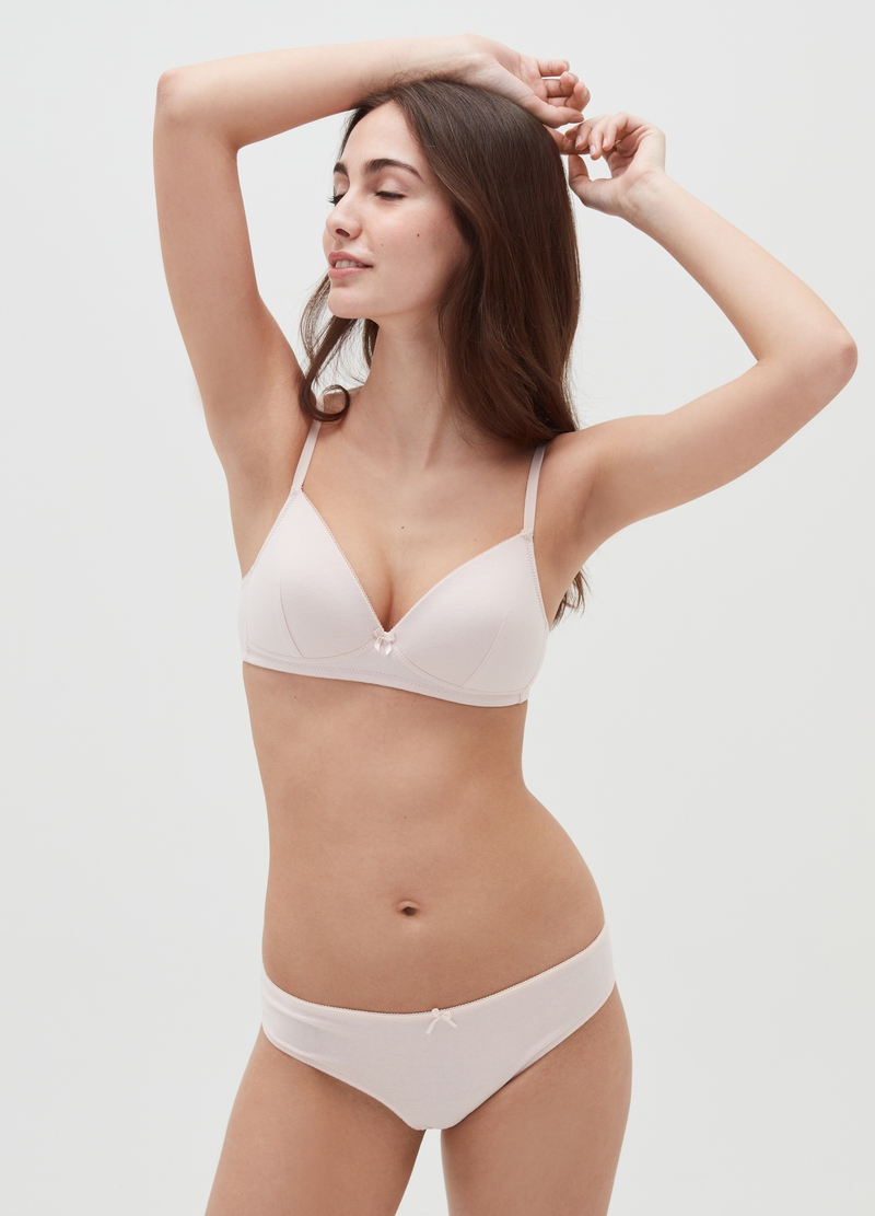 Triangle bra without underwiring image number null