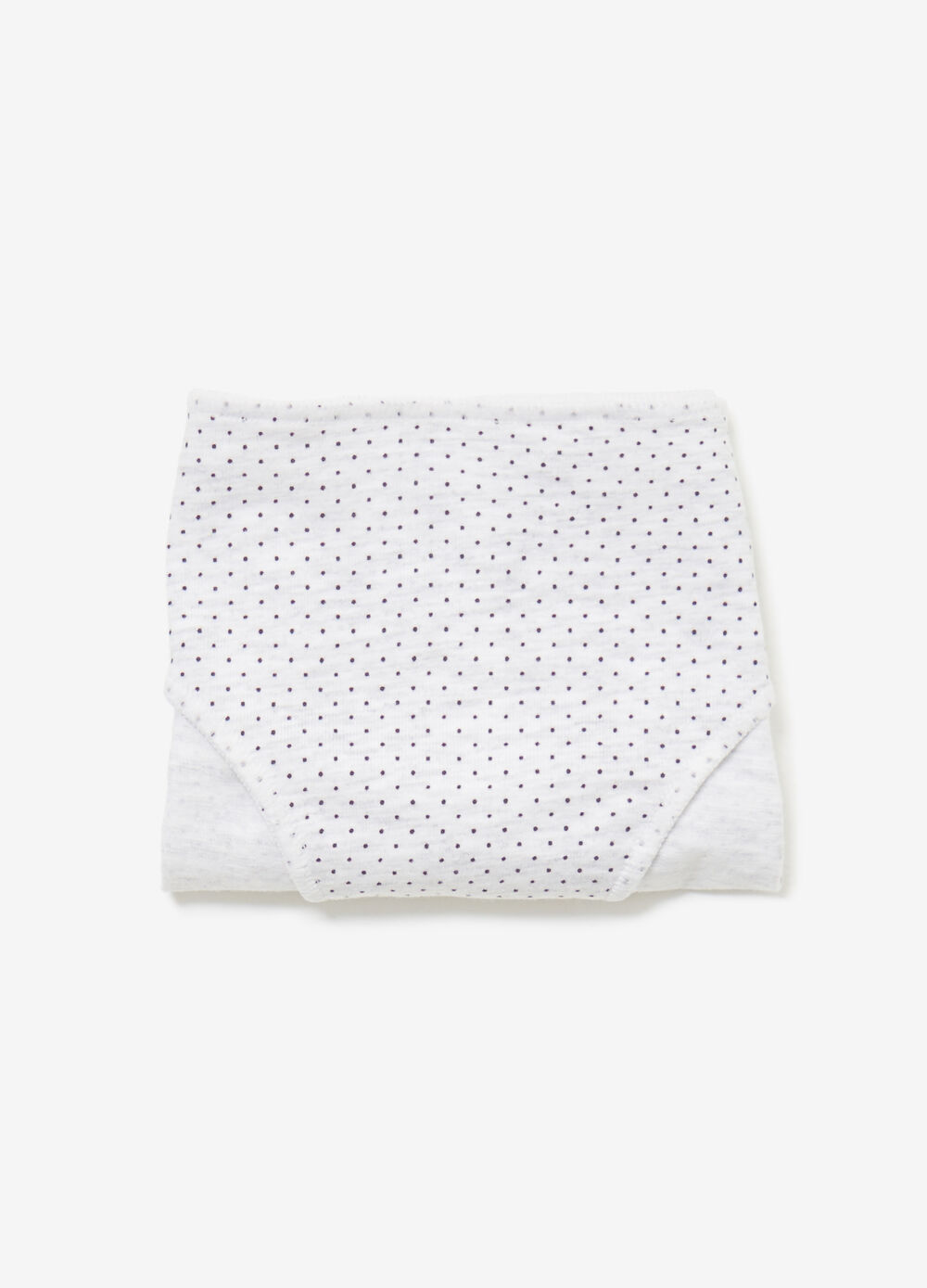 Patterned briefs in stretch cotton