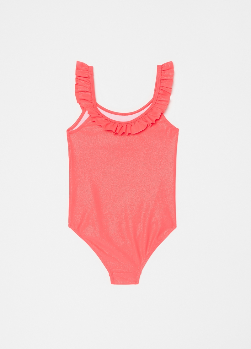 One-piece glitter swimsuit image number null
