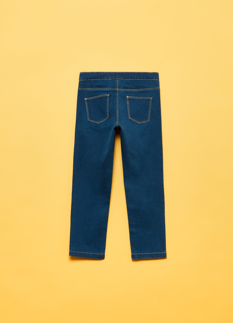 Jeans stretch con tasche image number null