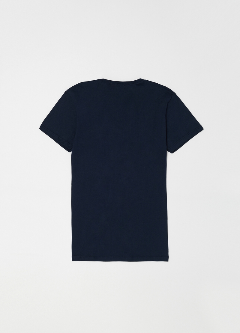 V-neck undershirt in 100% cotton image number null