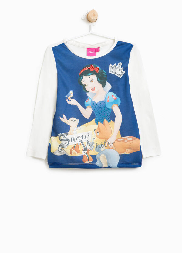 Snow White and the Seven Dwarves print T-shirt | OVS