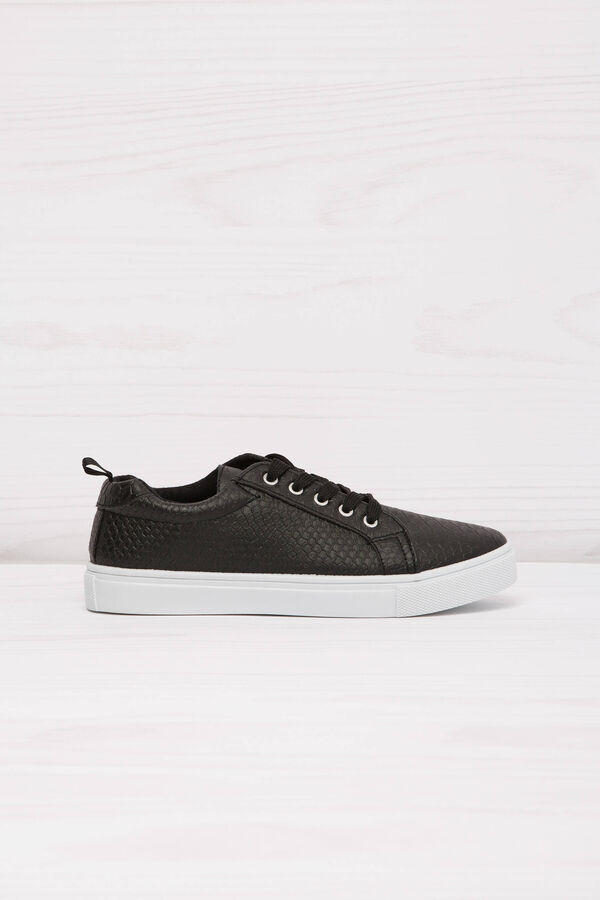 Low-rise sneakers with snakeskin upper   OVS