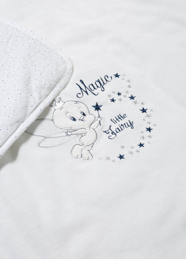 Cotton blanket with Tweety Pie embroidery | OVS