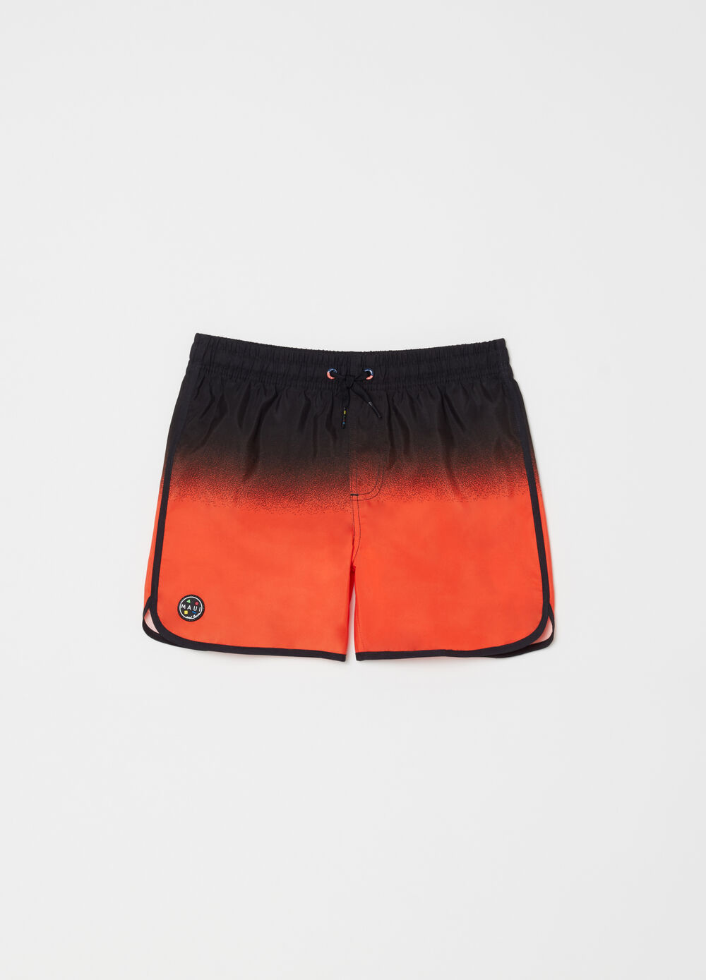 Degradé swim boxer shorts by Maui and Sons