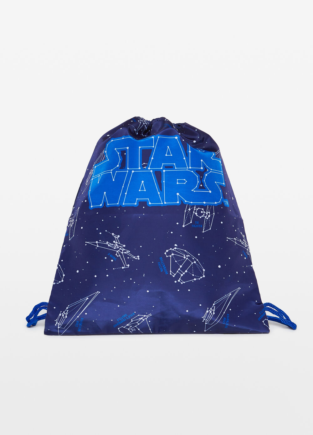 Bag with Star Wars print and pattern