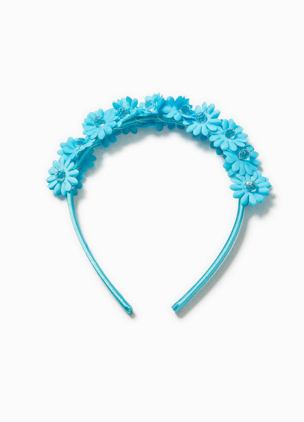 Hairband with flowers and beads | OVS
