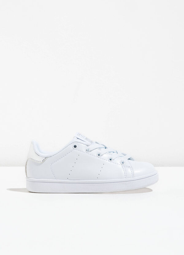 Openwork sneakers with contrasting colour back | OVS