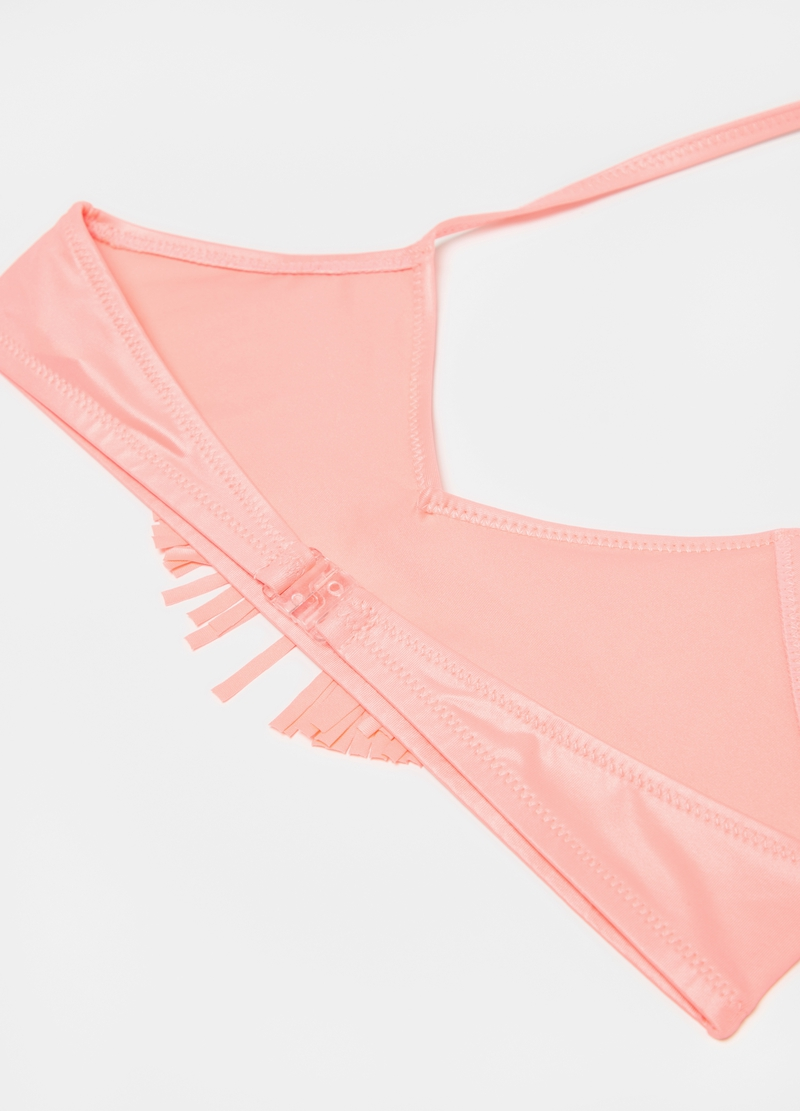 Bikini with fringing and tassels image number null