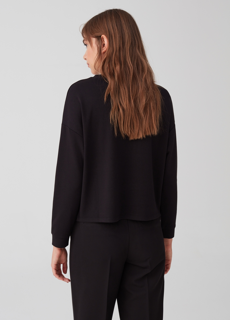 T-shirt with long sleeves and pockets image number null