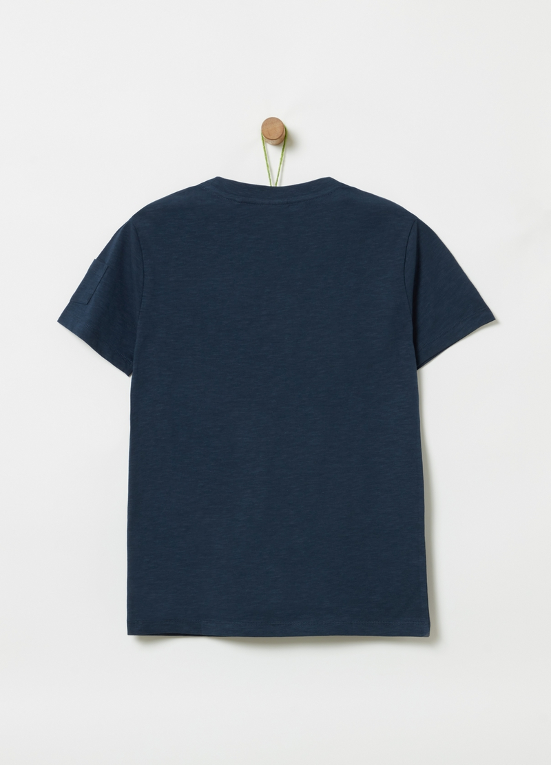 T-shirt puro cotone e stampa image number null