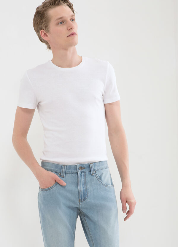 Regular fit faded jeans | OVS