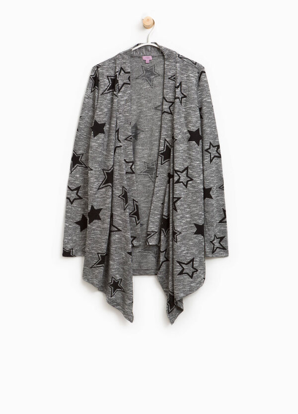 Cardigan with star print | OVS