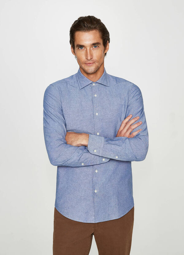 Rumford casual shirt in 100% cotton