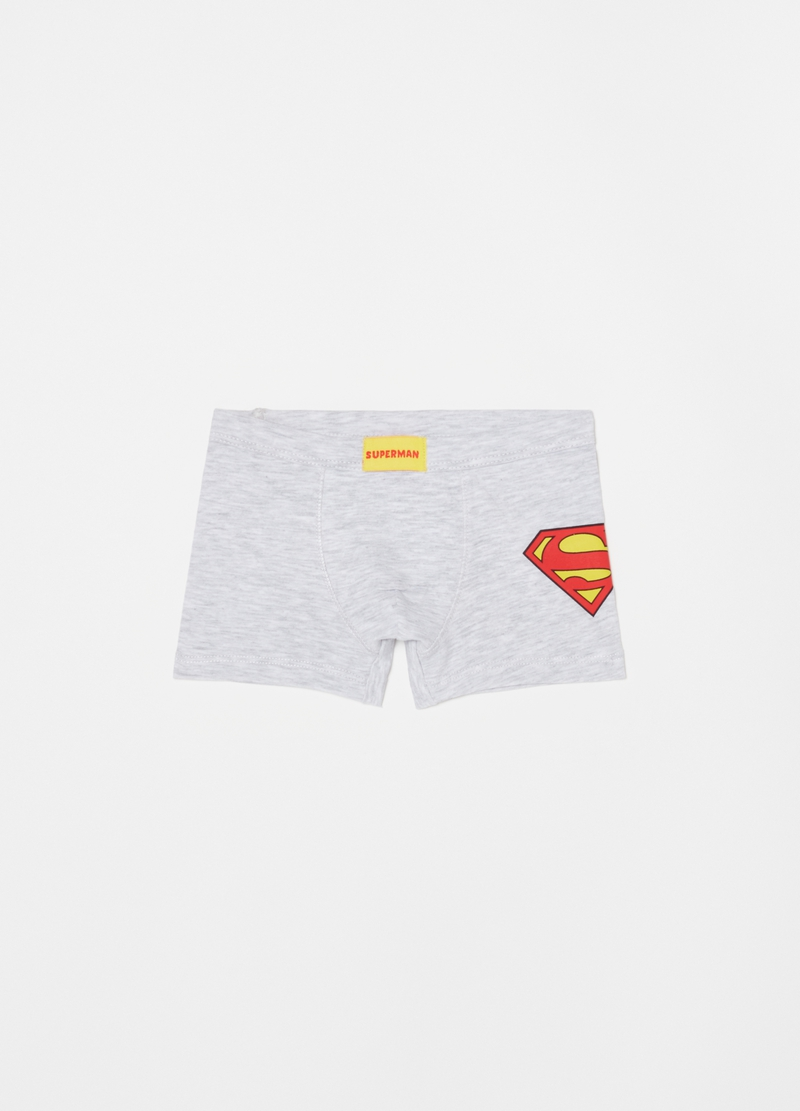 Two-pack Superman boxer shorts in stretch cotton image number null