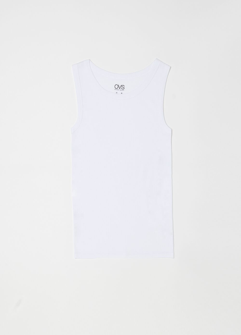100% cotton sleeveless undershirt