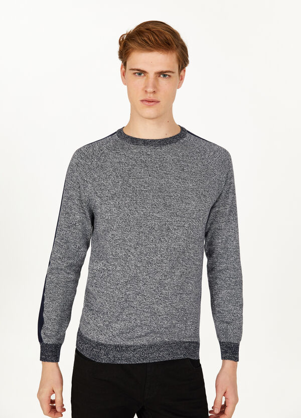 100% cotton pullover with bands