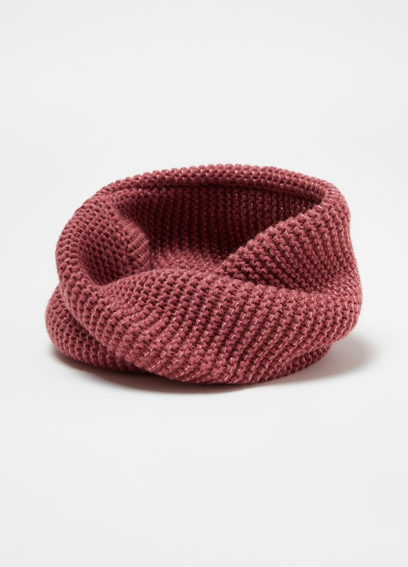 Scaldacollo con lurex tricot image number null