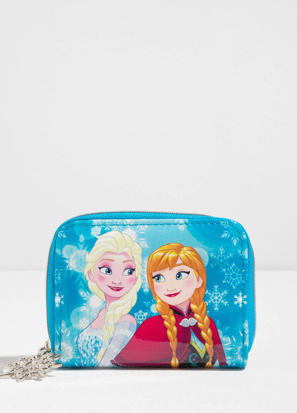 Coin purse with maxi Frozen print