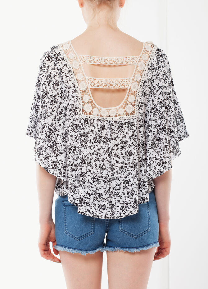 Poncho-style top