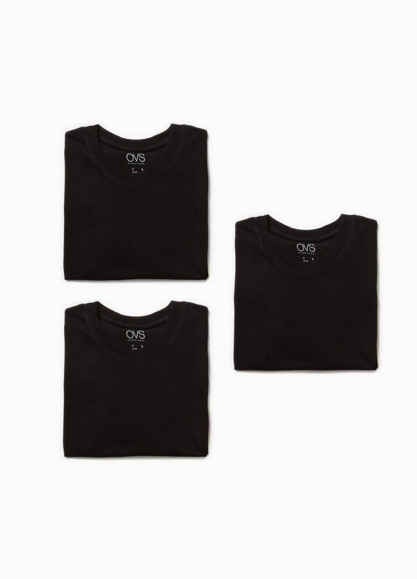 Set tre t-shirt intime in cotone | OVS