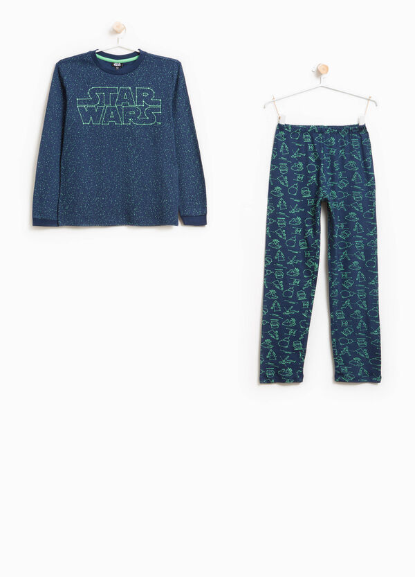 100% cotton pyjamas with Star Wars pattern | OVS