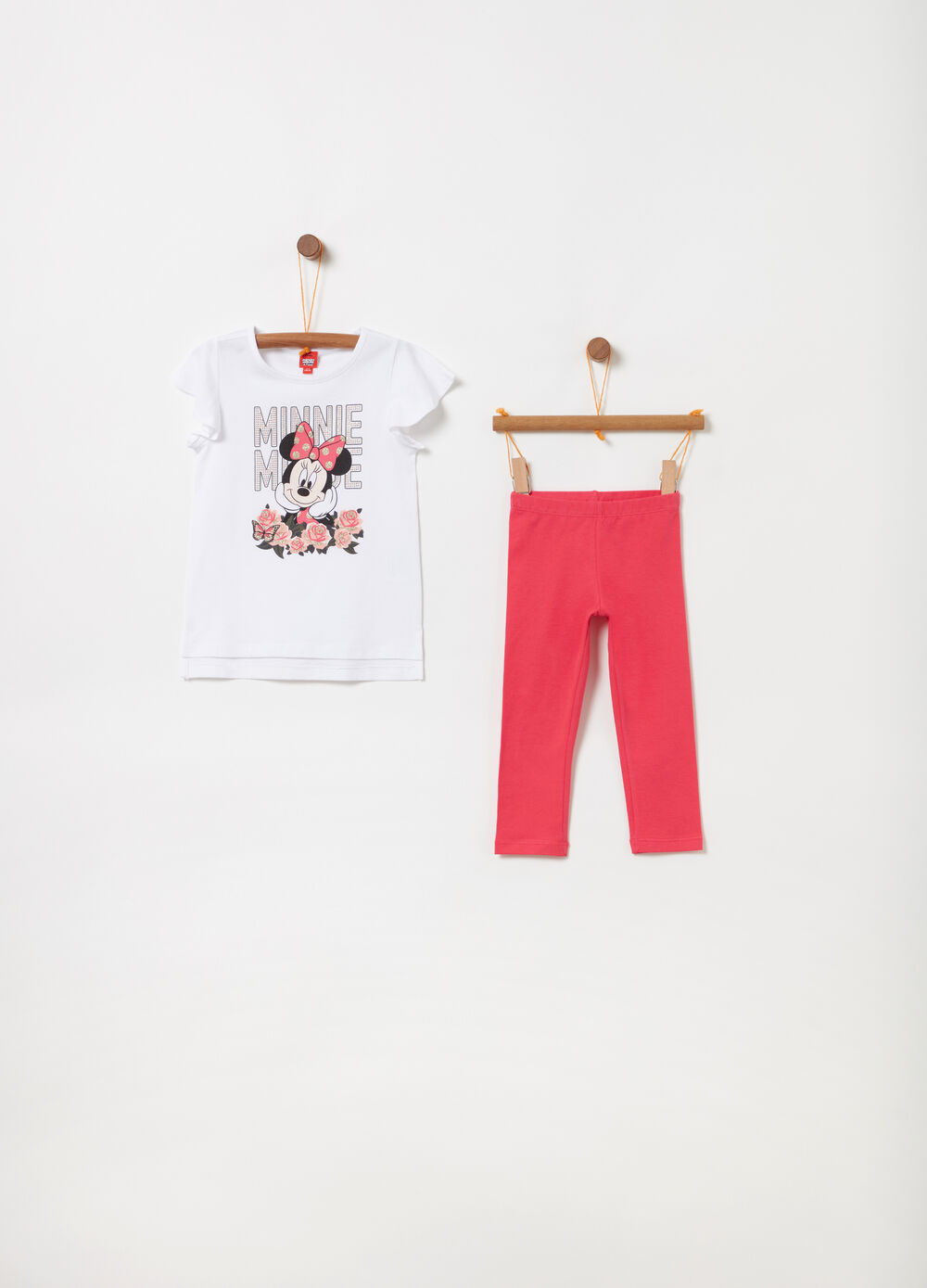 Jogging set t-shirt e leggings Disney
