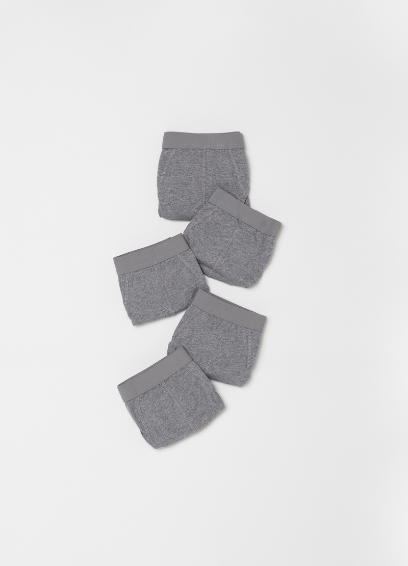 Five-pack stretch cotton briefs image number null