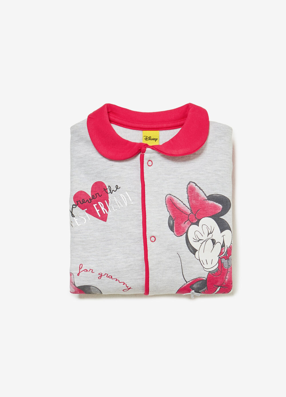 Minnie Mouse BCI sleepsuit in 100% cotton