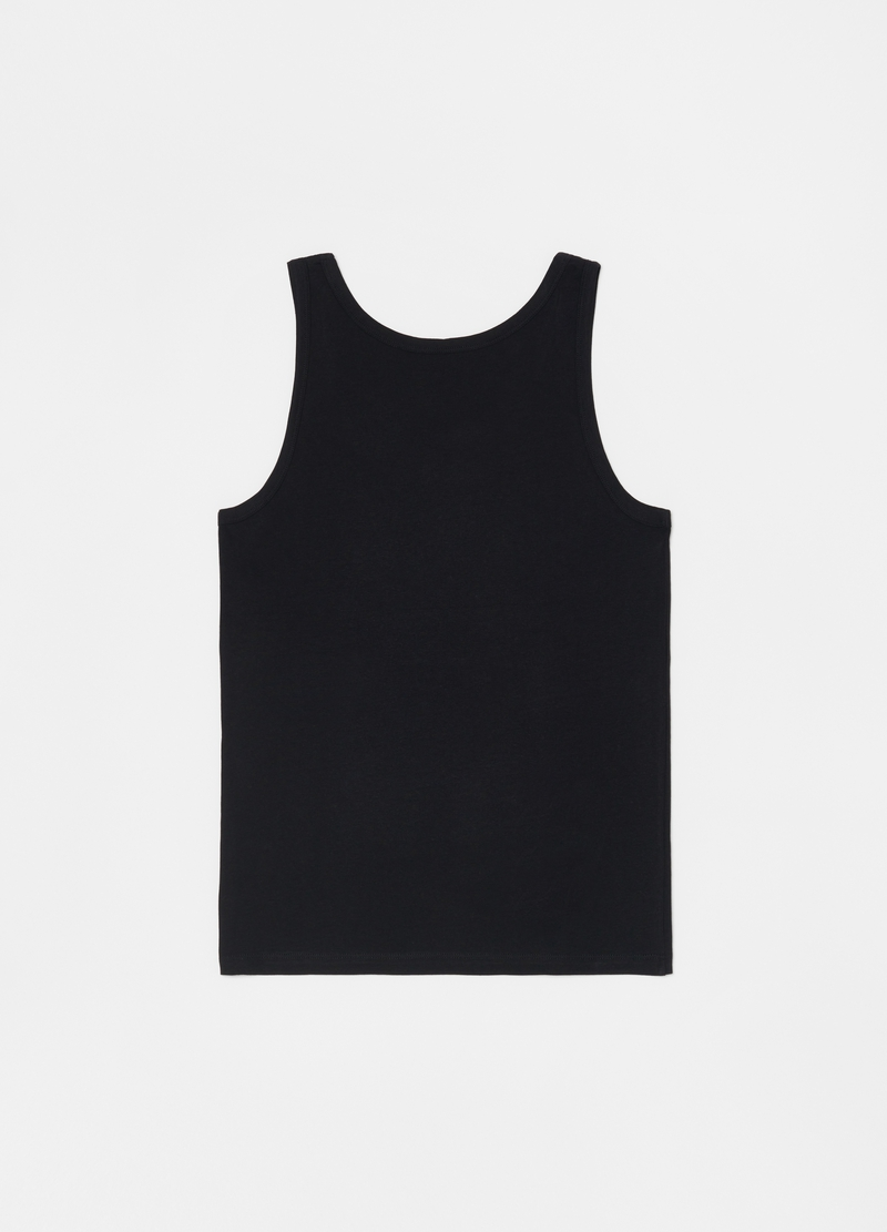 100% cotton racerback vest with round neck image number null