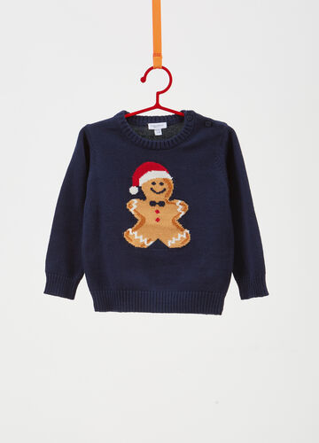 Gingerbread Christmas sweater