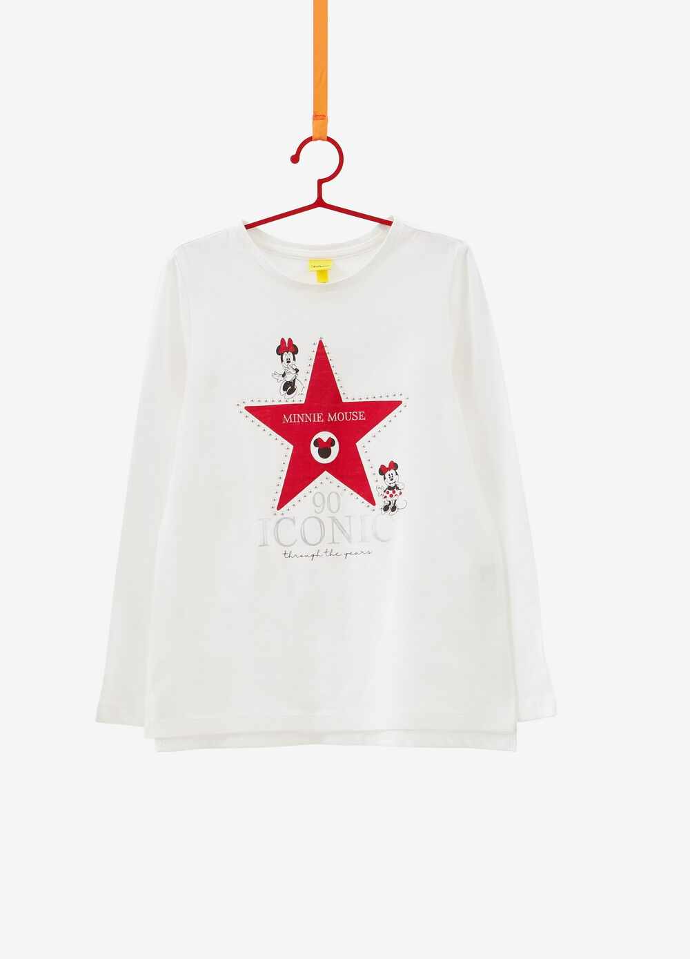100% cotton Minnie Mouse T-shirt with studs