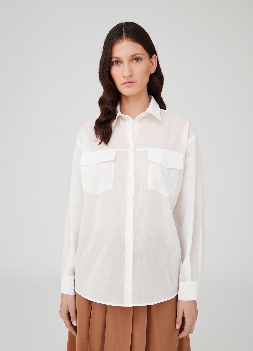 OVS Premium oversized shirt in 100% cotton