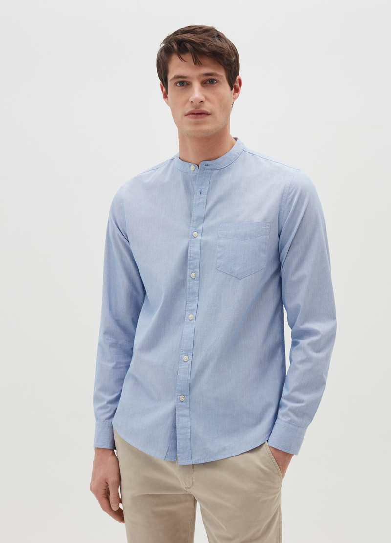 10% cotton striped shirt image number null