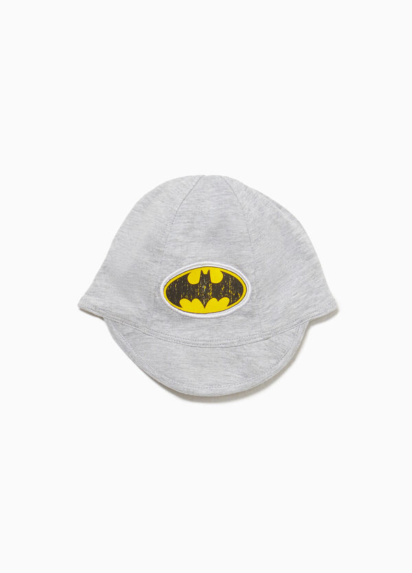 Cappello con visiera patch Batman