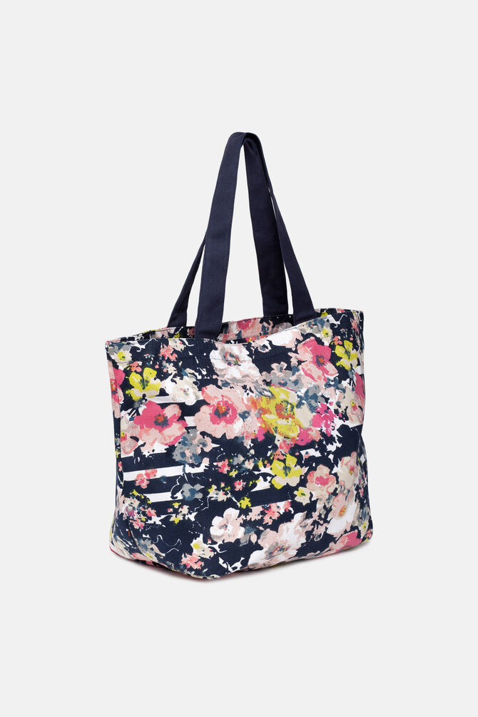 Patterned beach bag