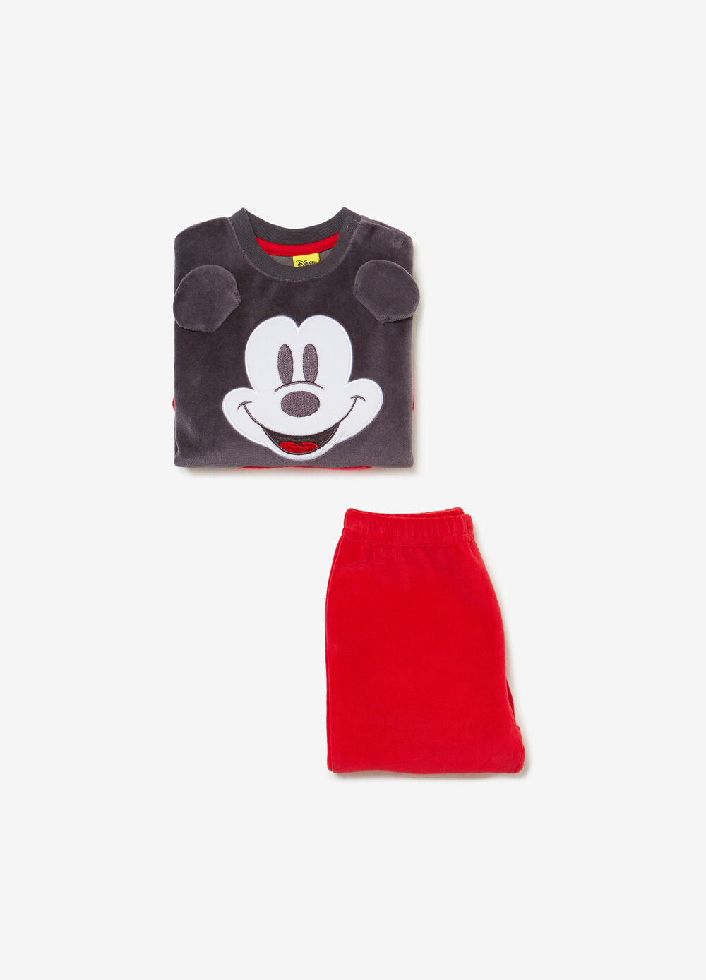 Mickey Mouse pyjamas in BCI cotton blend