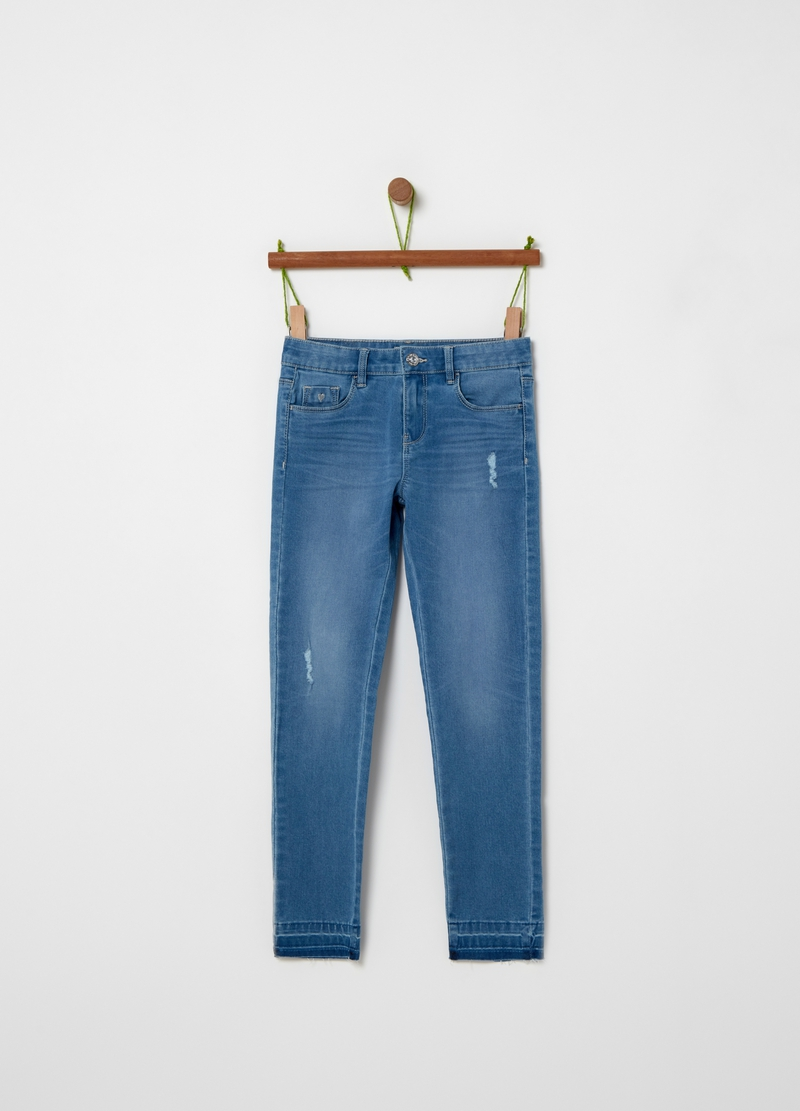 5-pocket stretch jeans image number null