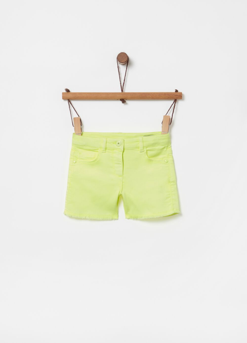 Shorts French Terry con cinque tasche