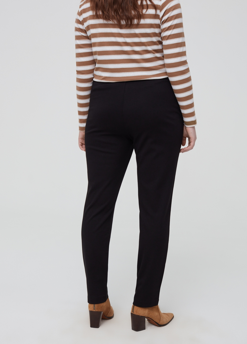 Pantaloni in viscosa stretch Curvy image number null