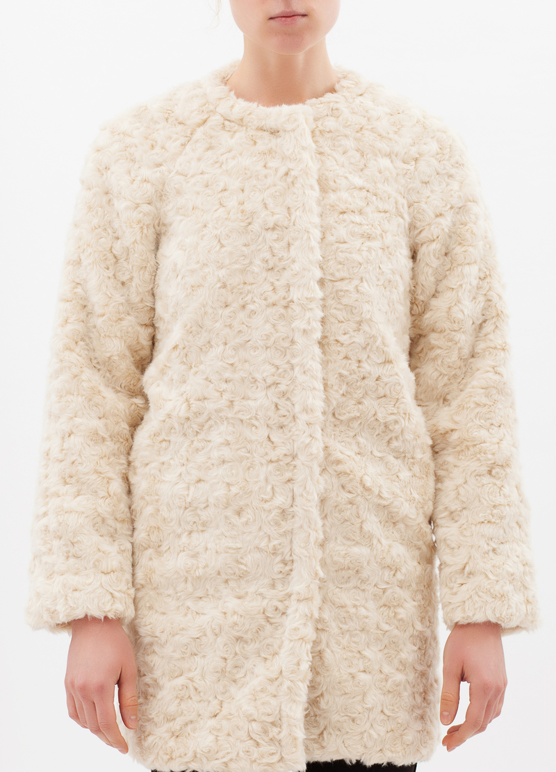 Cappotto similpelliccia image number null